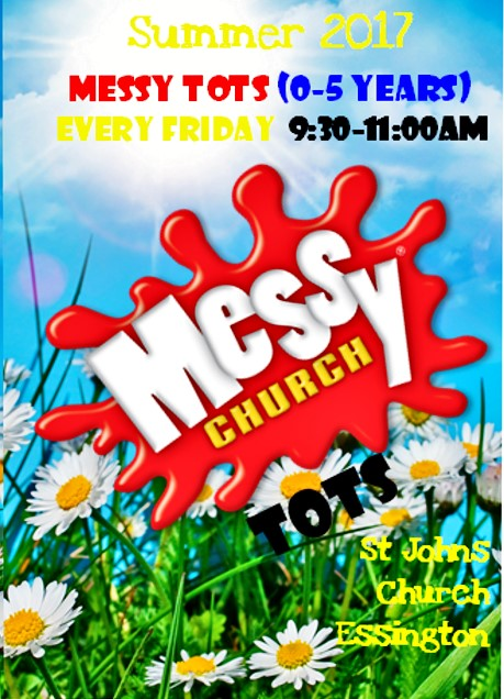 Messy Tots summer 2017