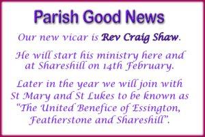 Parish Good News 9 1 19